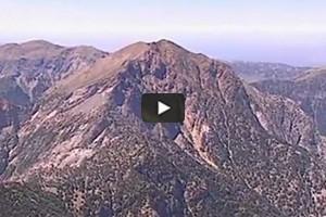 La Crète vue du ciel (2/5): montagnes et gorges