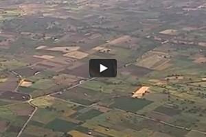 La Crète vue du ciel (4/5): champs crétois